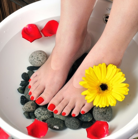 Relax In Warm Fragrant Bath